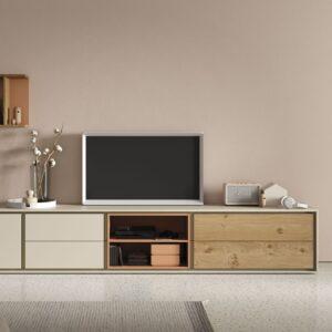mueble-bajo-tv-cajones-hueco-puertas