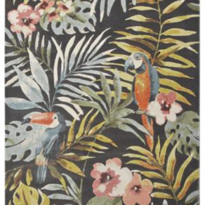 Alfombra decorado tropical