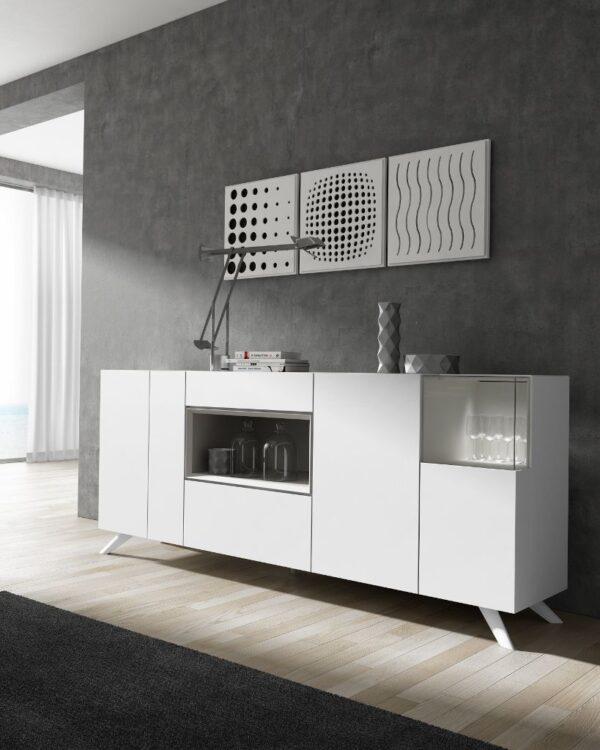 aparador lacado blanco moderno