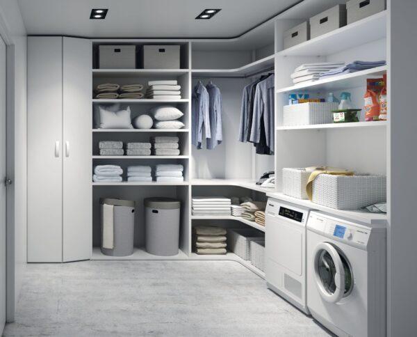 Armario cuarto lavadora o plancha