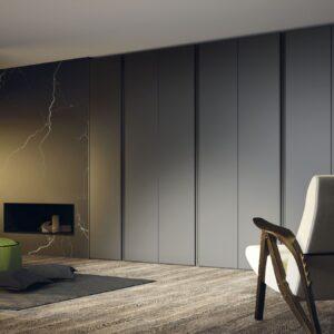 Armarios color gris