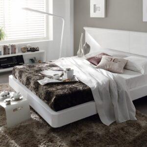 Dormitorio de matrimonio blanco mila 1