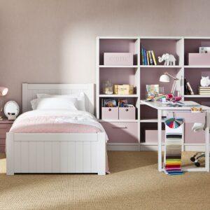 Dormitorio infantíl con cama de 105 1