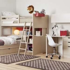 Habitación infantil con litera para dos 1