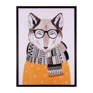 cuadro-fox-negro-60×80