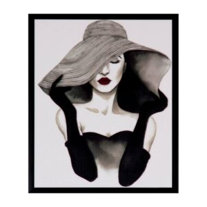 cuadro-woman-negro-25×30