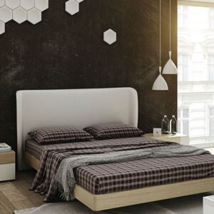 Dormitorio de matrimonio cabecero polipiel 1