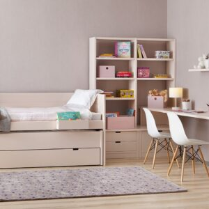 Habitación juvenil romántica 1