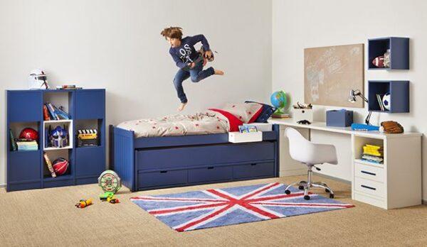 Habitación juvenil para chicos