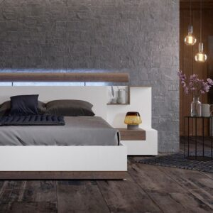 Dormitorio matrimonio con cabecero kuffert