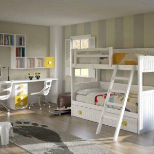 Dormitorio infantíl con literas 1
