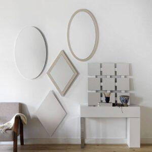 Espejos ovales o rombos