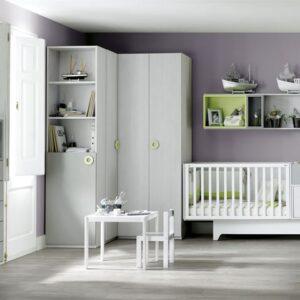 Habitación bebe con armario grande 1