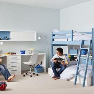Dormitorio con litera de 105 1