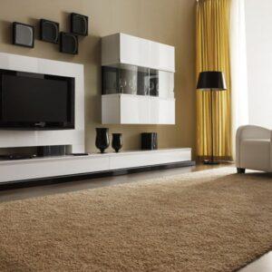 Mueble de salón blanco brillo 1