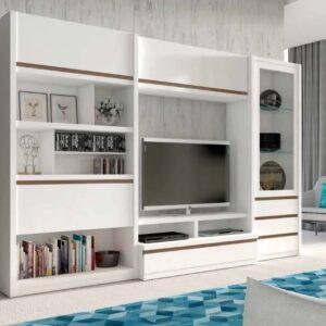 mueble-salon-vitrina