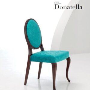 Silla respaldo ovalado Donatella 1