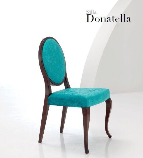 Silla respaldo ovalado Donatella