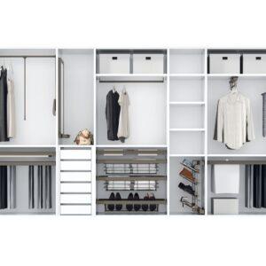 Interiores vestidores modernos